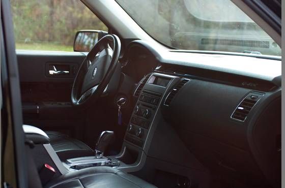 Ford Flex Suv Seats  Interior Image