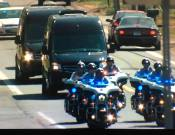 Sprinters in Funeral Procession