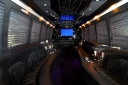 Limo Party Bus Interior 1