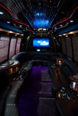 Limo Party Bus Interior 4