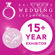Baltimore Wedding Experience Exhibitor badge